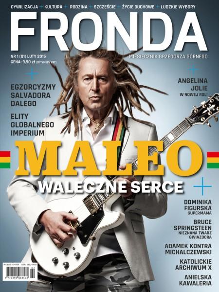 Miesięcznik Fronda - okładka nr 1-2015