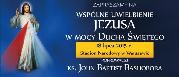 Jezus na Stadionie - zapisy