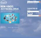 Facegloria - główne okno