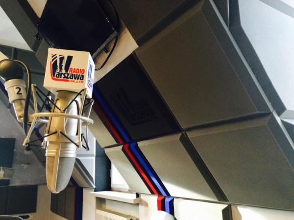Radio Warszawa - konsoleta