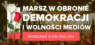 Marsz w obronie demokracji i wolności mediów