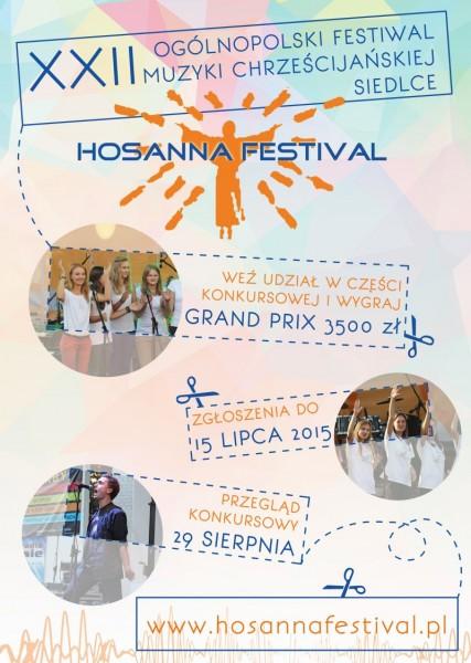 Hosanna Festiwal 2015