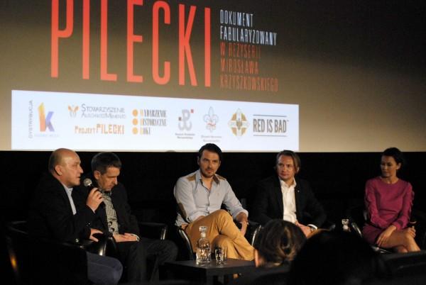 Pilecki - pokaz prasowy