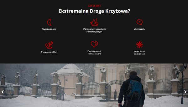 Ekstremalna Droga Krzyżowa - EDK 2016