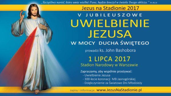 Jezus na stadionie 2017