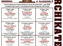 festiwale w Warszawie: ORGANY ARCHIKATEDRY 2020
